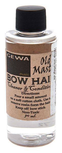 BOW HAIR CLEANER, OLD MASTER 90ML, FOR ALL STRINGED INSTRUMENT BOWS, UK SELLER