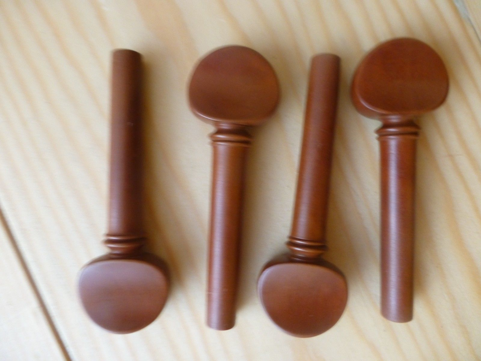 Boxwood violin pegs pieces english style full size