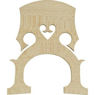 DOUBLE BASS BRIDGE, MAPLE, FRENCH STYLE, CHOOSE 4/4,3/4,1/2,1/4,1/8,  UK SELLER