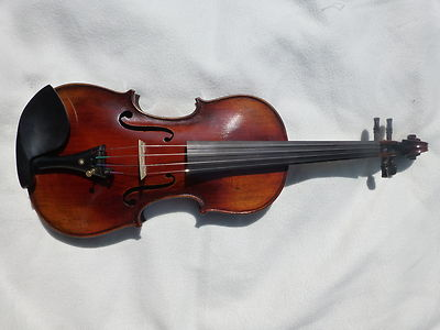 NEW 4/4 VIOLIN, HAND MADE, ANTIQUE LOOK, FLAMED MAPLE, GREAT SOUND, UK SELLER!