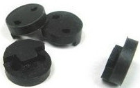 1 VIOLIN MUTE, BLACK, RUBBER, CIRCLE STYLE, GREAT PRACTICE AID, UK SELLER!