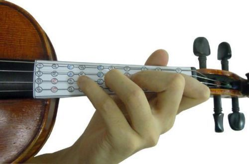 LEARN TO PLAY VIOLIN, FINGERBOARD STICKER/INTONATION CHART, FOR 4/4, FROM UK!