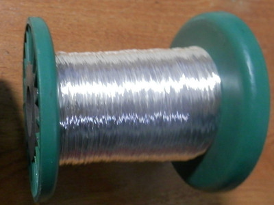 SILVER PLATED BOW WIRE, FOR VIOLIN, CELLO OR BASS BOWS. 300 GRMS, UK SELLER!